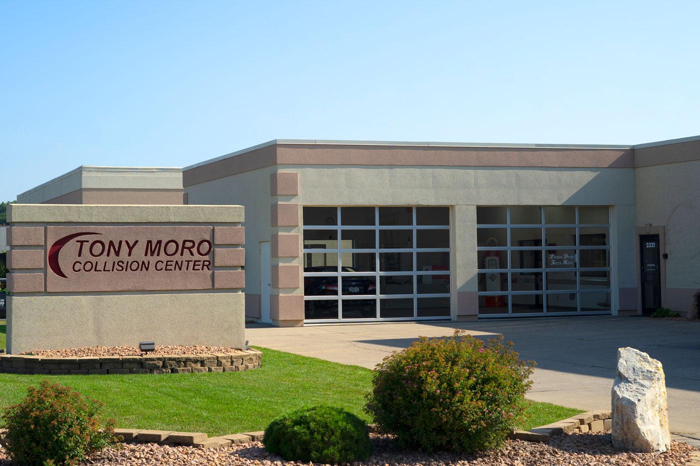 Tony Moro Collision Center Auto Body Collision Repair Des